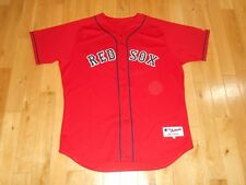 Majestic DAVID ORTIZ Red Friday BOSTON RED SOX Mens AUTHENTIC MLB Team JERSEY 52