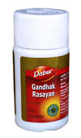 Dabur Gandhak Rasayan an Ayurvedic Remedies for Cold etc. - 40 Tablets Pack