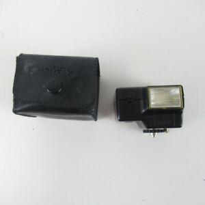 Pentax AF100P Flash Unit for Auto 110 SLR Cameras Japan Black No Manual Untested