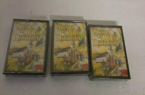 Songs of Joy & Devotion Reader's Digest Audio Cassette Set Vol. 1-3 NEW SEALED