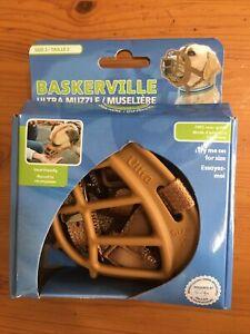 Baskerville Ultra Muzzle, Tan, Size 2
