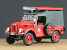 GAZ-69 Soviet Fire Truck PMG-20 USSR 1954 Year 1/43 Scale Collectible Model Car
