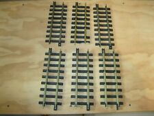 6 PIECES STRAIGHT NEW BRIGHT INDUSTRIES G GAUGE TRACK