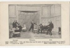 The Last Of Mrs Cheyney Theatre Royal Chatham Kent Vintage Postcard US086