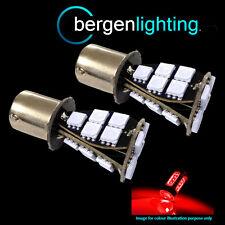 382 1156 BA15s 245 207 P21W XENON RED 21 SMD LED REAR FOG LIGHT BULBS RF201703