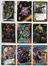 Guardians of the Galaxy, Marvel card lot