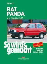 Fiat Panda ab 1980 Reparaturanleitung Reparaturbuch So wirds gemacht Handbuch