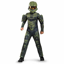 Disguise Master Chief Classic Costume, Small (4-6)