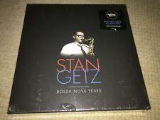 Stan Getz Bossa Nova Years 5 Vinyl LP box 180 Gram, Reissue corner wear