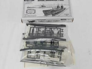 1/400 Encore Soviet Submarine Fleet 3 Subs Type D/L/S Plastic Model Kit 8001