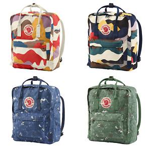 Unisex Backpack 16L Fjallraven Kanken Leisure Student Backpack School Bag