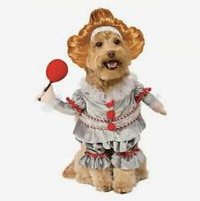 Pennywise Clown It Movie Dog Costume Size Small NWTs