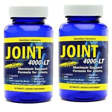 Maximum Strength Glucosamine Chondroitin MSM Joint 4000-LT Pain Relief x2
