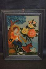 Antique (Pre-1900) Dealer or Reseller Folk Art Art Paintings
