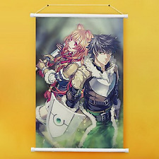 Anime Wall Scroll Tate No Youusha No Nariagari Brand New 60cm 90cm