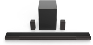 VIZIO Elevate Sound Bar for TV, Home Theater Surround Sound System for TV with S