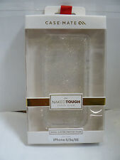 CASE MATE NAKED TOUGH CASE FOR IPHONE 5/5S/SE CHAMPAGNE SHEER GLAM SUPM46933