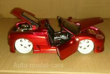 FERRARI 360 SPIDER ITALIAN SPORTS CAR IN 1/24 SCALE WITH OPENING FEATURES.