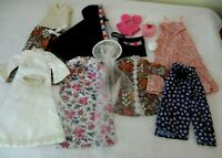 Vintage Handmade Barbie doll clothes~with snap closures as needed~ 11 items