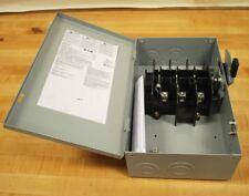 Cutler Hammer DG322UGB Disconnect Switch, Type 1, 60 Amp 240 VAC 3 Pole - NEW