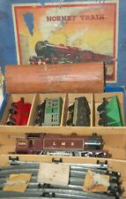 HORNBY O GAUGE  No 2 SPECIAL MIXED GOODS SET IN LMS RED LIVERY