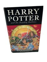 Harry Potter and the Deathly Hallows 1st Edition 1st Printing Bloomsbury