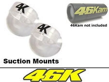 Suction Mounts for Bullet Camera, 46Kam Bike Camera Motorbike Helmet Cam
