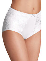 M&S Firm Control Tum & Hip Slimmer Shaper High Slimming Knickers Cotton Briefs