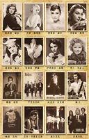 32 Stk Retro Reise Postkarte Klassisches Film Foto Bild Poster Karten Wand Dekor
