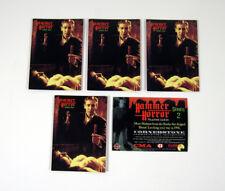 Lot of (5) 1996 Cornerstone Hammer Horror Series 2 Promo Card (P1) Nm/Mt