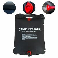 20L/40L Portable Solar Energy Heated Shower Bathing Bag Traveling Camping Hiking