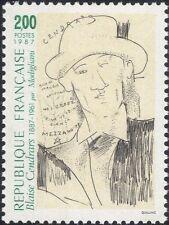FRANCE 1987 CENDRARS/auteurs/Livres/Littérature/Art/Peinture/personnes 1 V (n37371)