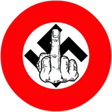 Anti Nazi [25mm Button] #2