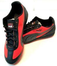 PUMA Mens Size 8.5 EVO SPEED STAR SB Black/Red Lace Up Fashion Walking Sneaker