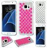 For Samsung Galaxy S7 EDGE Diamond Desire Back BLING Hard Case Phone Cover