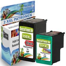 DRUCKER PATRONE für HP 350 + 351 XL Photosmart C4200 C4280 C4380 Officejet J5780
