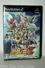 SUPER ROBOT WARS TAISEN Z GIOCO USATO SONY PS2 ED GIAPPONESE JAPAN NTSC/J 37329