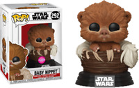 Star Wars - Baby Nippit Flocked Exclusive Funko Pop Vinyl New in Box In Hand
