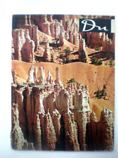 Vint photographic1955 Du Illustrated Swiss june US NATIONSL PARKS as it was