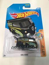 Hot Wheels 2017 Kool Kombi Volkswagen Vw Black Rare HTF New Sealed N Case