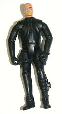 "2012 Wah Tung Toys Military Action Figure Navy Seal Black Wetsuit 4"" Tall"
