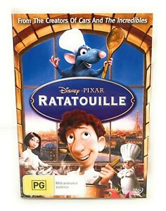 Ratatouille (DVD, 2007) Disney Lou Romano Region 4 Free Postage