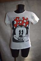 HAUT TOP TEE SHIRT  LITTLE ELEVEN PARIS DISNEY MINNIE  TAILLE 15/16 ANS   TBE