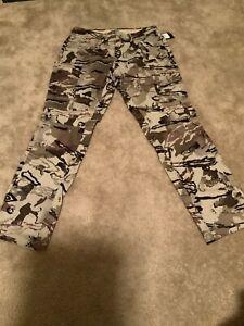 $150 Under Armour Tactical Combat Pants Barren Camo Desert Sand Men's SZ 34/32