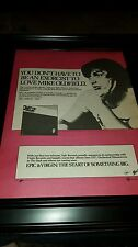 Mike Oldfield QE2 Rare Original Promo Poster Ad Framed!