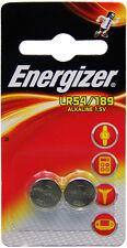 Lot 2 Piles boutons LR54 / 189 ENERGIZER 1,5 Volt Alkaline