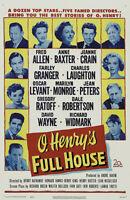 O. Henry's full house Marilyn Monroe movie poster print
