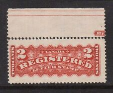 Canada #F1b VF Mint Showing Part Imprint **With Certificate**