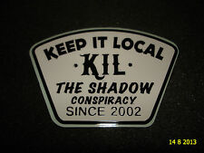 1 Authentic SHADOW CONSPIRACY BMX tenerlo locale COLOMBANO Adesivo Decalcomania #27 aufkleber
