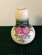 Decorative Bedside Carafe with Tumbler Set - Floral Pattern